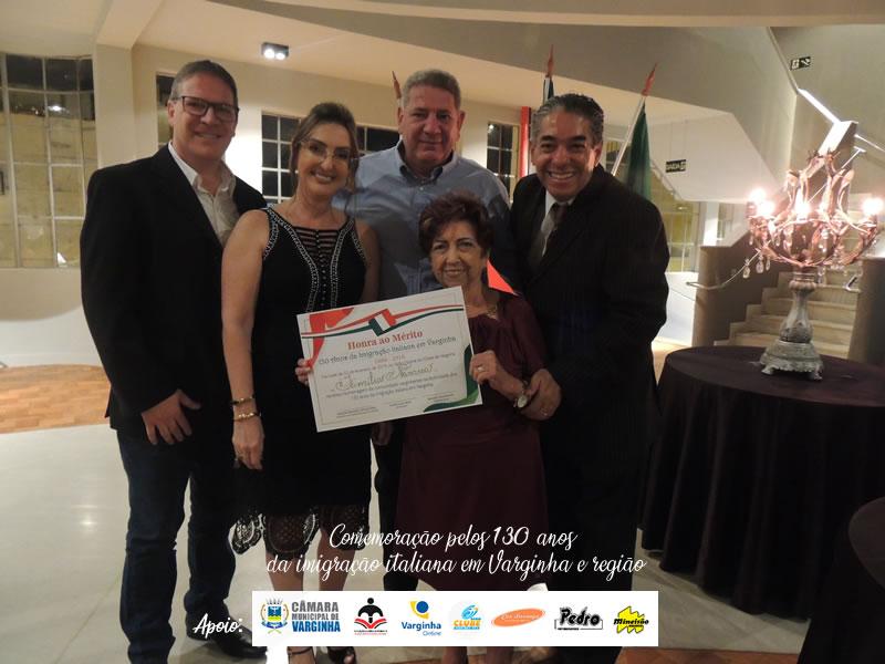 Celebração pelos 130 anos da imigração italiana em Varginha e região