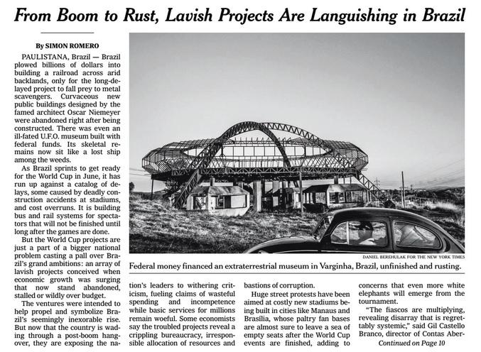 Foto: Reprodução The New York Times