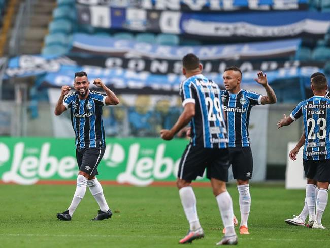 Créditos: Lucas Uebel/Grêmio FBPA/Direitos reservados Esportes